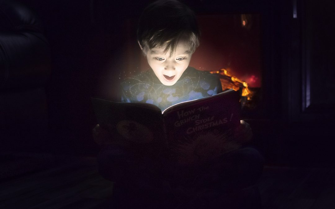 Reading sparks the imagination
